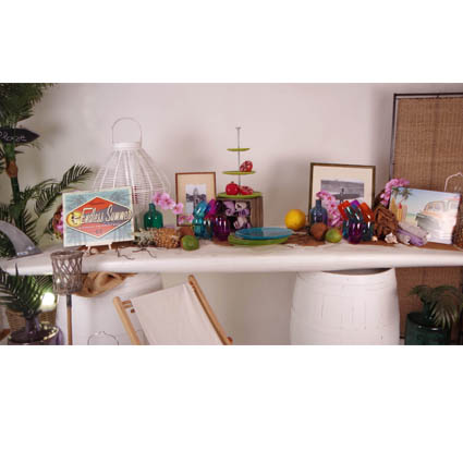 Pack de décoration buffet Surf