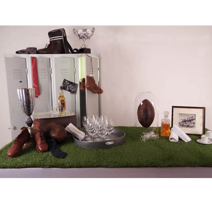 Pack de décoration buffet Rugby