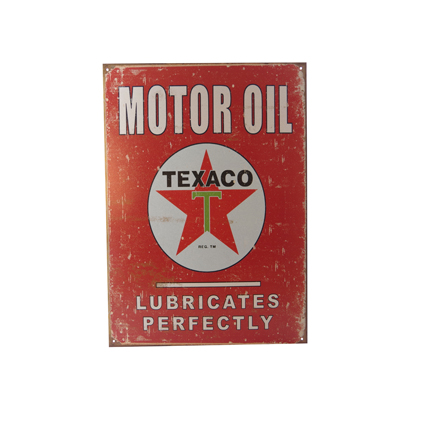 Plaque texaco