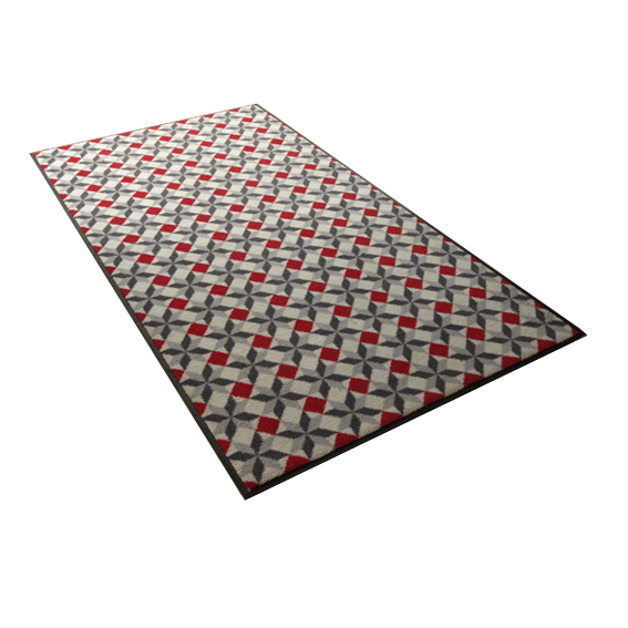 Tapis carreau ciment