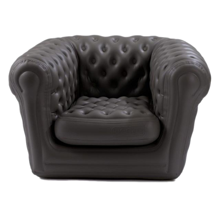 Fauteuil Chesterfield gonflable
